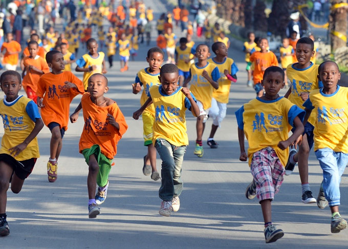 Image result for ethiopian children running